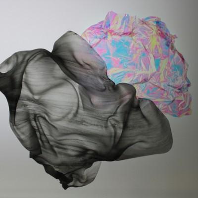 Mélanie Vincent_Cartes aux reliefs, détail, 2009