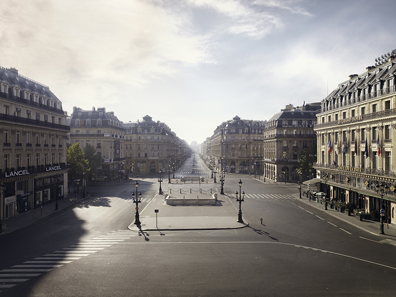 Memories of a Silent World, PLACE DE L'OPÉRA, PARIS