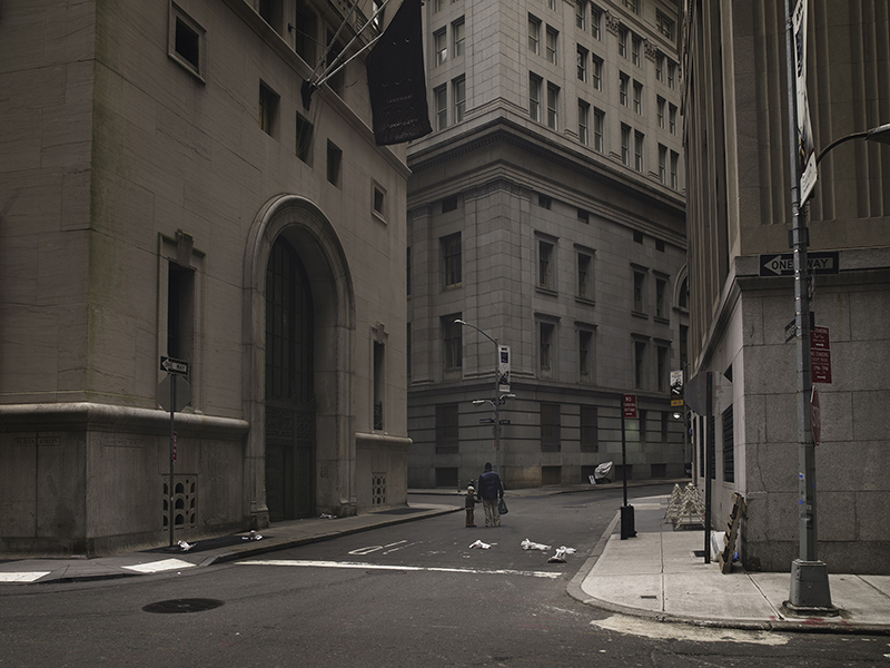 Memories of a Silent World, WALL STREET, NEW-YORK