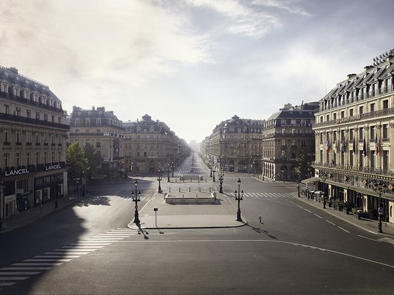 Memories of a Silent World, PLACE DE L'OPÉRA, PARIS