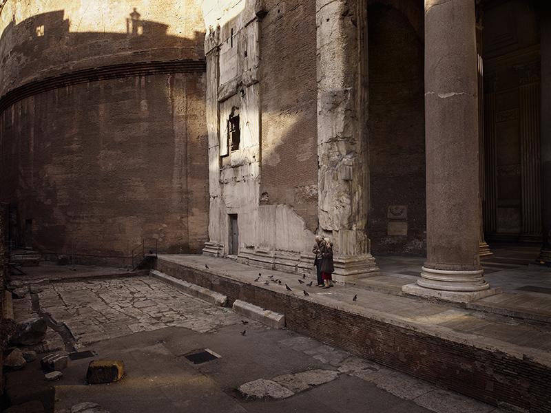 Memories of a silent world, LE PANTHÉON, ROME